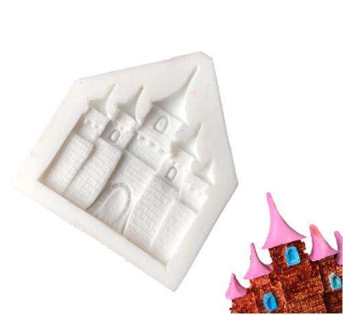 Silicone Mold - Princess Castle