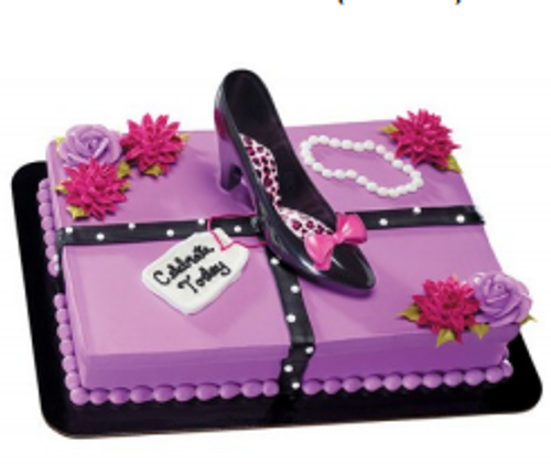 Cake Topper - HIGH HEEL KIT