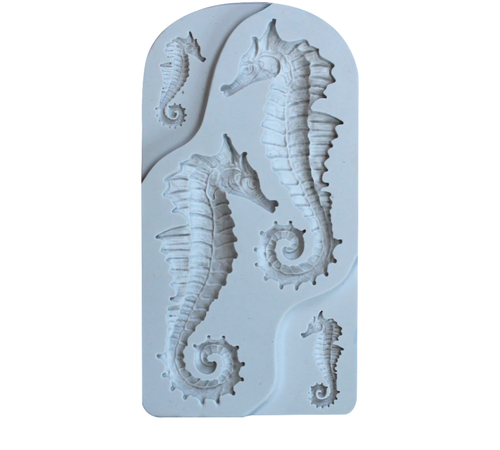 Silicone Mould - Seahorses 4pc