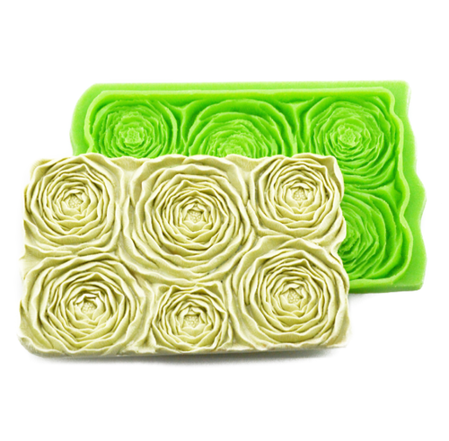 Silicone Mould - David Austin / Peony Rose