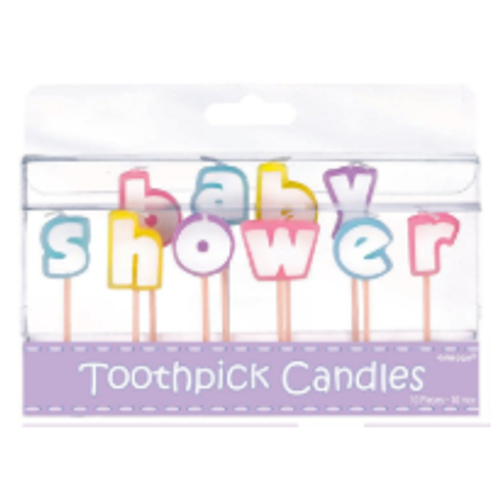 Cake Candles - Baby Shower