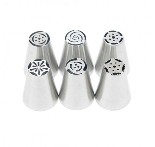 Russian Piping Tip Set - FLOWER
