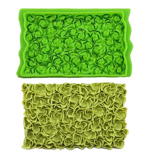 Silicone Mold - Rosettes