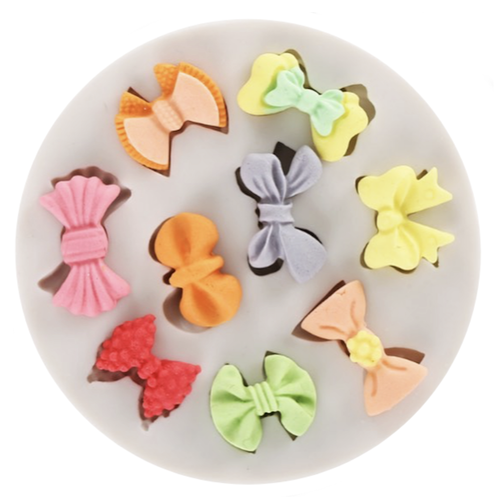 Silicone Mold - Tiny Bows 9pc
