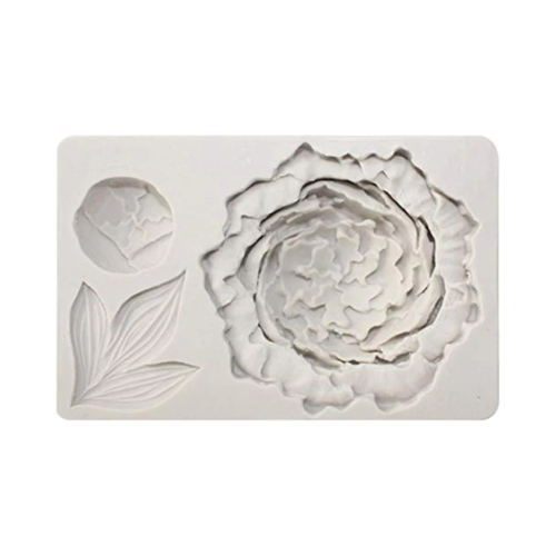 Silicone Mould - Peony Flower Set