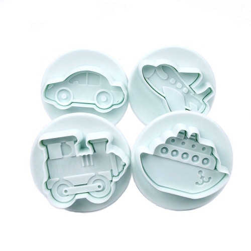 On the Move - Transport Themed Plunger Cutters