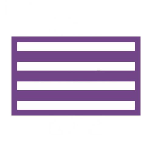 Mesh Cake Stencil - Horizontal Stripes