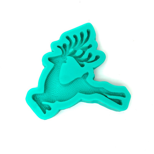 Silicone Mold - Prancing Reindeer