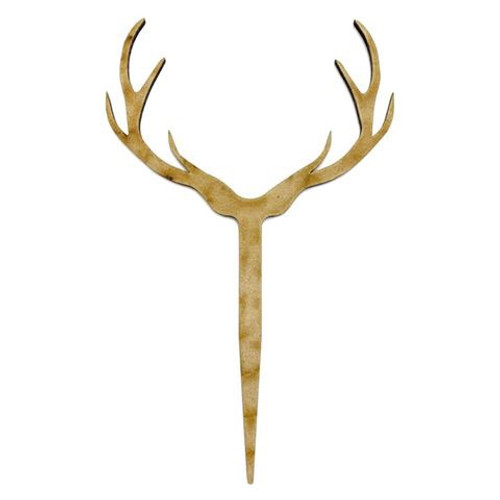 Cake Topper - Timber Antlers