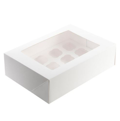 Cupcake Box (with inserts) - 12 Cavity