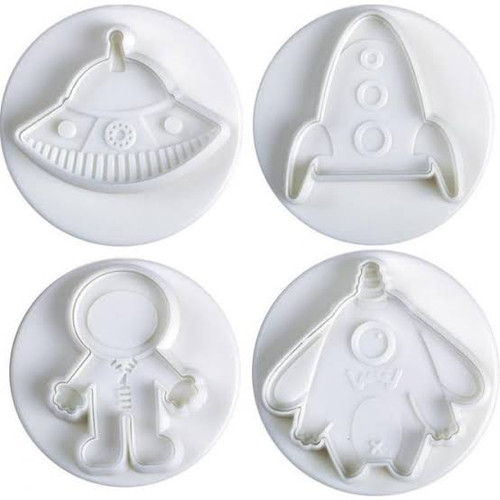 Plunger Cutter Set 4pc - Astronaut