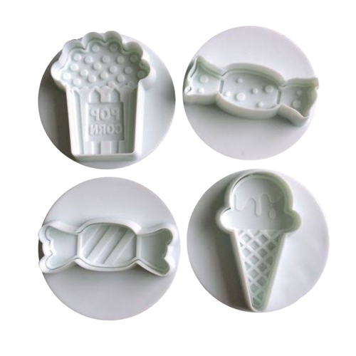 Movie Night Themed Plunger Cutter Set