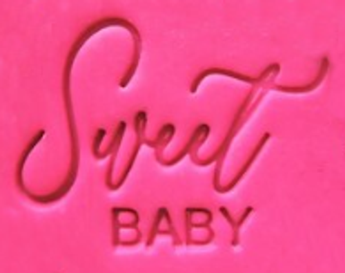 Cookie Embosser - 'Sweet Baby'