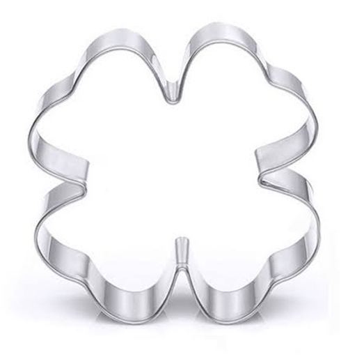 Stainless Steel Cookie Cutter - 4-Leaf Clover