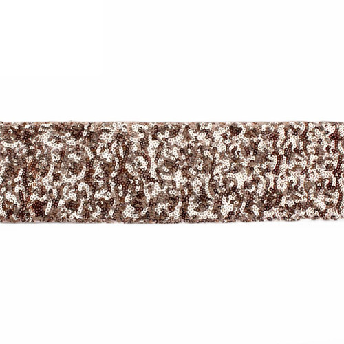Sequin Cutting Ribbon - ROSE GOLD