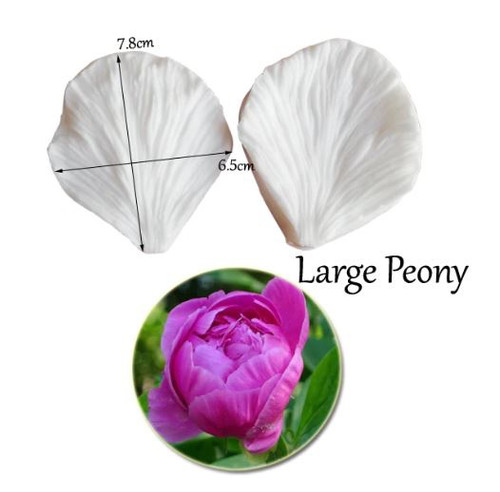Silicone Petal Veiner - LARGE PEONY