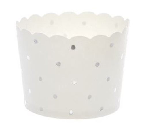 Shmick Baking Cups 25pk - SILVER DOTTY