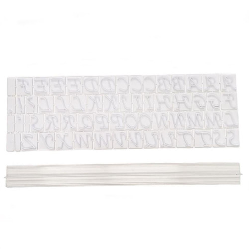 Message Press Set - UPPERCASE