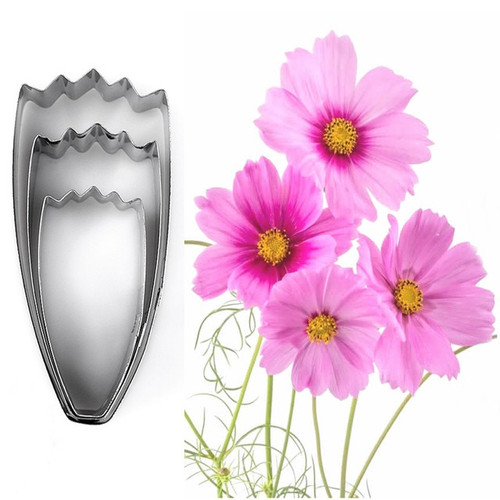 Persian Chrysanthemum 3pc Tin Plate Cutter Set