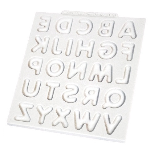 Silicone Mould - SIMPLE ALPHABET UPPERCASE