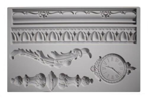 Silicone Mold - ANTIQUE CLOCK & TRIMS