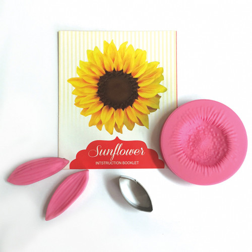 Sunflower Cutter & Veiner Set