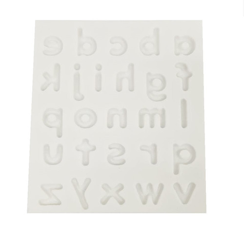Silicone Mold - SIMPLE ALPHABET LOWERCASE