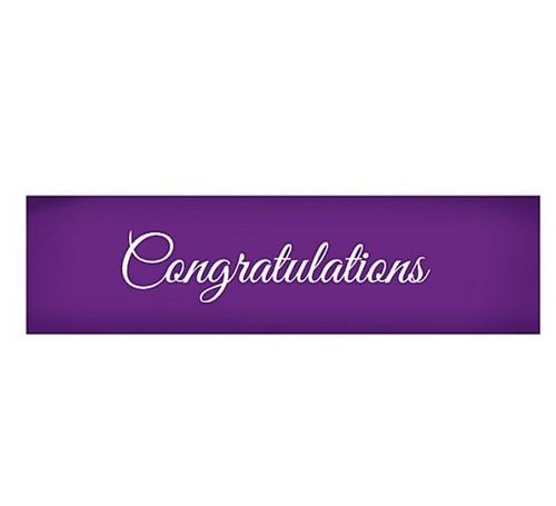 Mesh Cake Stencil - Congratulations