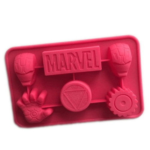 Silicone Mold - Iron Man (Marvel)