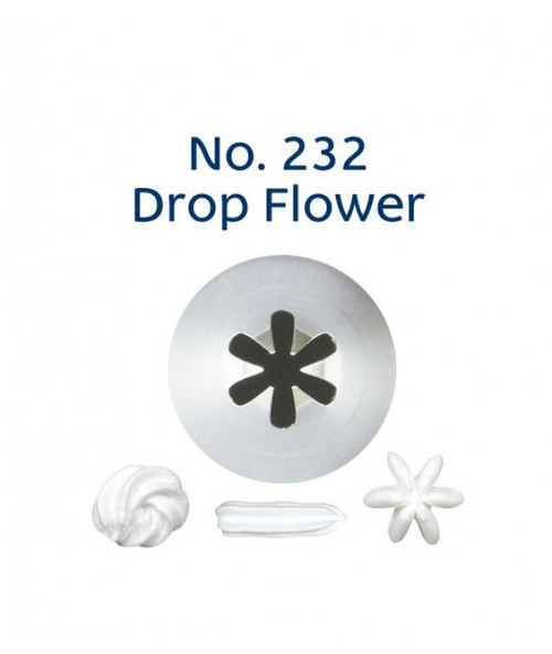 Piping Tip Closed Star (Drop Flower) - No.232