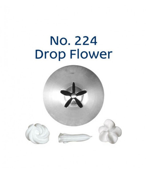Piping Tip Closed Star (Drop Flower) - No.224