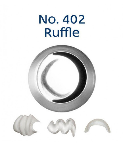 Piping Tip Specialty - No.402 Ruffle