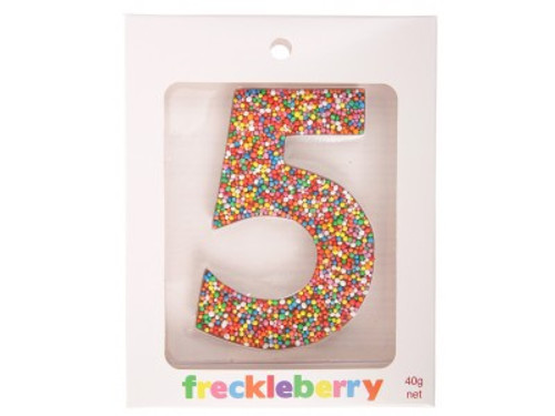 Chocolate Freckle - Number 5