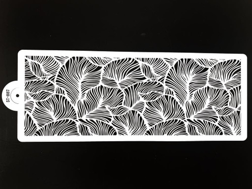 Cake Stencil - Intricate Leaves