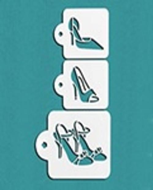 Cake Stencil - High Heels 3pc
