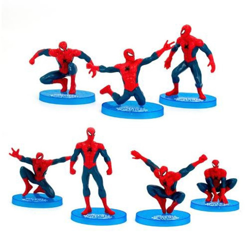 Cake Topper - Spider Man Figurine