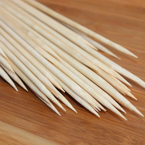 Bamboo Dowel Skewers - 12pc
