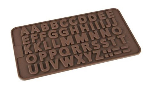 Chocolate Mold - ALPHABET UPPERCASE