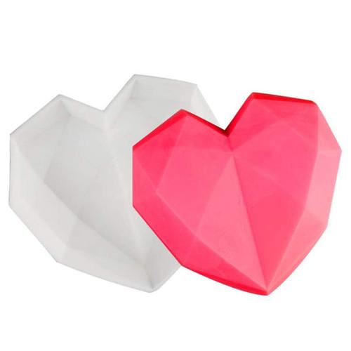Silicone Mold - POLYGONAL HEART