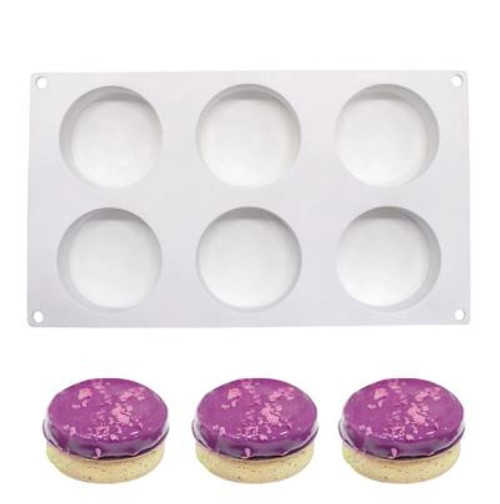 Silicone Mould - CYLINDER /6 Cavity Standard