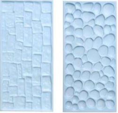 Plastic Embosser - Cobblestone / Stone Wall Pattern
