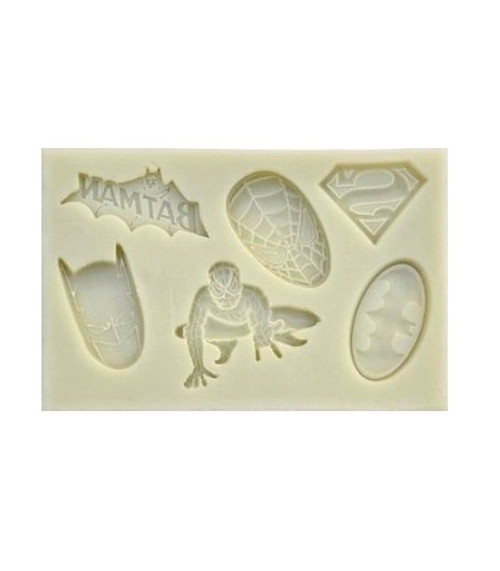 Batman / Spiderman mold