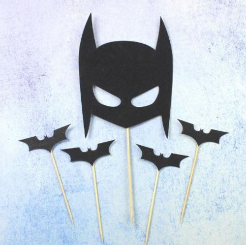 Cake Topper - BATMAN 5PC