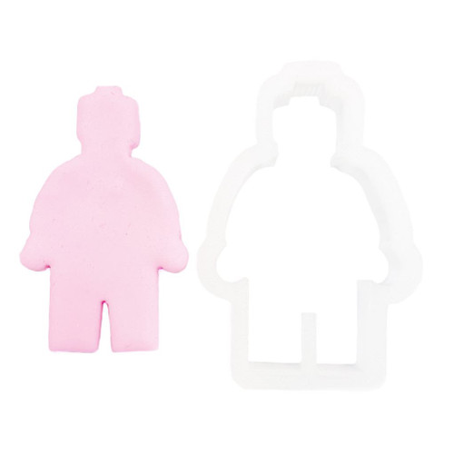 Plastic Cutter - Lego Man