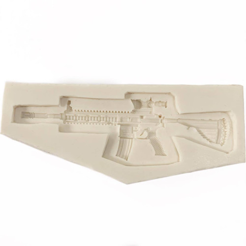 Silicone Mold - MILITARY FIREARM