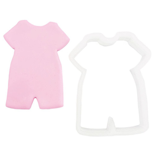 Plastic Cutter - Baby Jumpsuit (Short Sleeve)