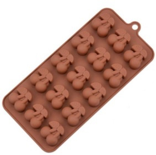 Silicone Chocolate Mold - CHERRIES