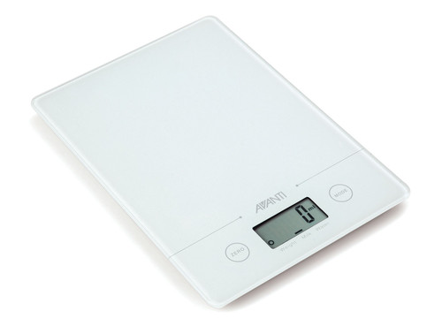 Compact Kitchen Scales - White