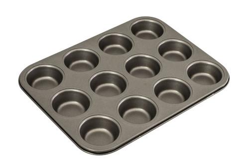 Bakemaster Muffin Pan 12 Cup Mini