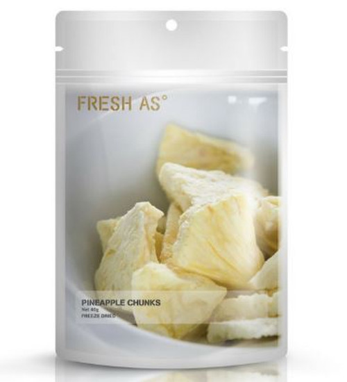 Freeze Dried Fruit - Pineapple Chunks